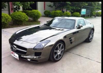 Black chrome car 3