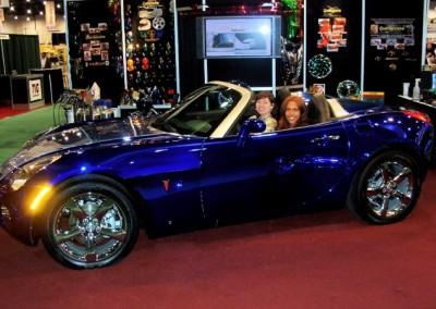 Blue Chrome Car 11