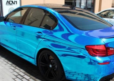 Blue Chrome Car 3 (2)
