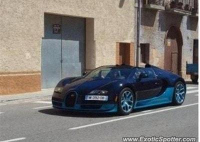Blue Chrome Car 4