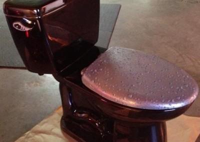 Bronze Chrome Toilet