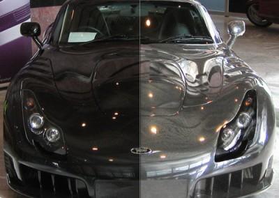 Chrome & Black Car 1