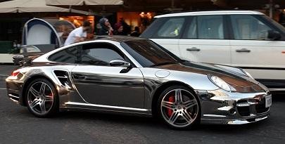Chrome Car 2