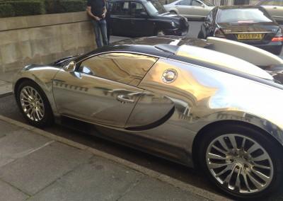 Chrome Car 22