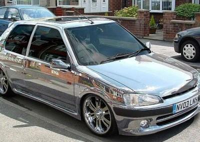 Chrome Car 34