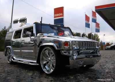 Chrome Car 45