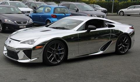 Chrome Car 48