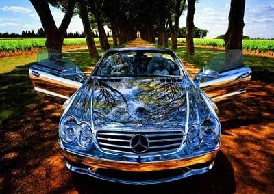 Chrome Car 55