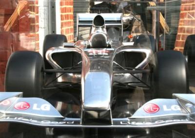 Chrome F1 Car