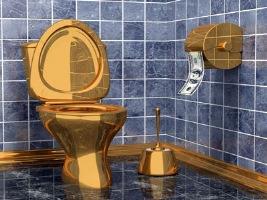 Gold Bathroom 4
