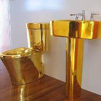 Gold Bathroom 6