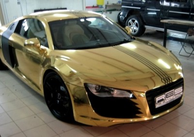 Gold Chrome Car 5 (2)