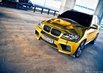 Gold Chrome Car 6