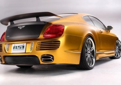 Gold Chrome Car 9