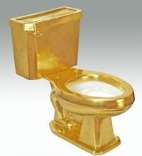 Gold Toilet 2