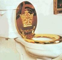 Gold Toilet 5
