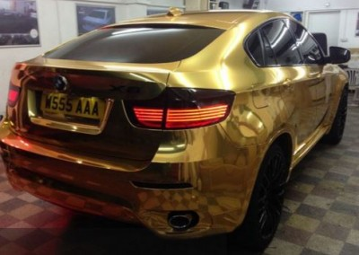 Gold chrome car 5