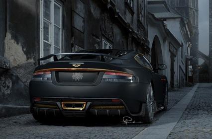 Matt Black Car 1