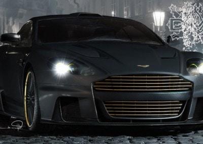 Matt Black Car 2