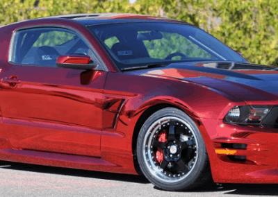Red Chrome Car 1