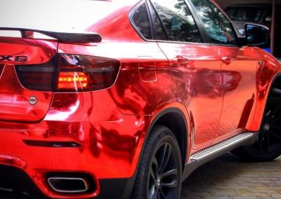 Red chrome car 4
