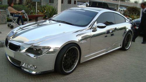 chrome Car 4