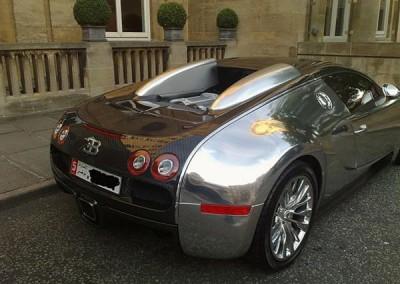 Black & Chrome Sprayed Car 1