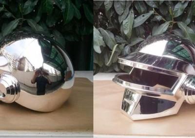 Chrome Helmet 13
