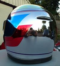 Chrome Helmet 5