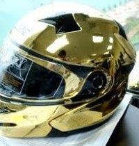 Chrome Helmet 6
