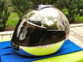Chrome Helmet 9