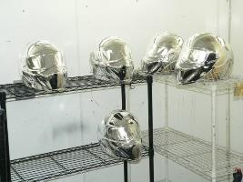 Chrome Helmets 2