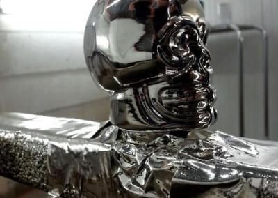 Chrome Skull 1