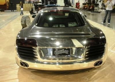 Chrome Sprayed Audi 2