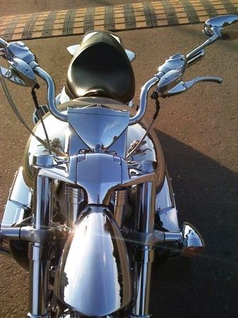 Chrome Sprayed Bike 10