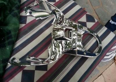 Chrome Sprayed Bike Part 3