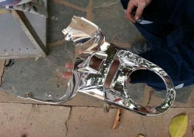 Chrome Sprayed Bike Part 4