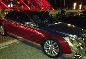 Chrome Sprayed Car 12