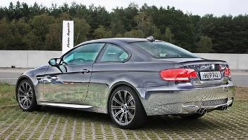 Chrome Sprayed Car 13