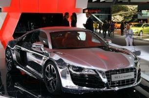 Chrome Sprayed Car 14