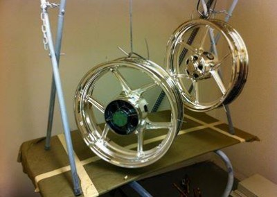 Chrome Sprayed Rims 2