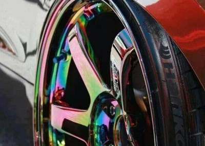 Chrome Sprayed Rims 3