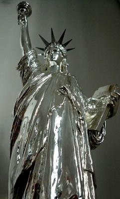 Chrome Statue 16