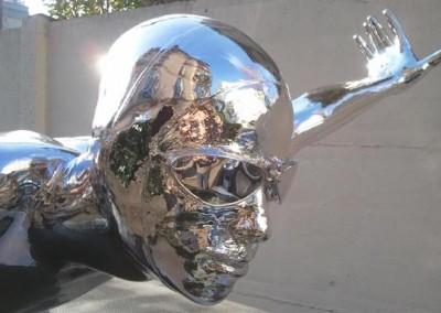 Chrome Statue 2