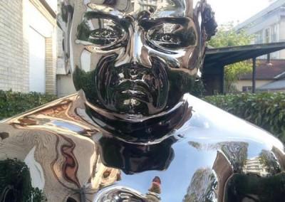 Chrome Statue 20