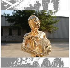 Chrome Statue 28