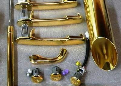 Gold Chrome Sprayed Parts 2