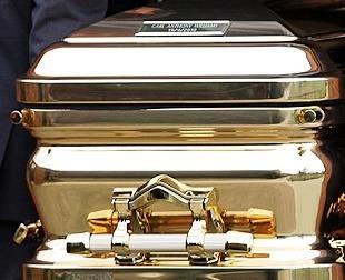 Gold Chromed Coffin 5