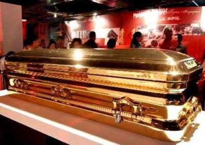 Gold Chromed Coffin 7