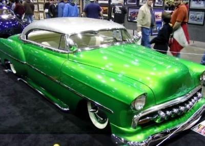 Green Chrome Sprayed Car 2